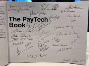 The PAYTECH Book signed