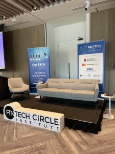 The PAYTECH Innovation Conference stage