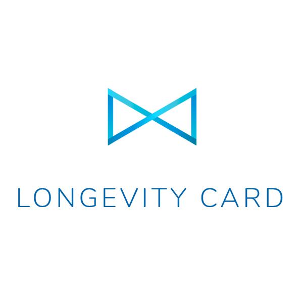 Longevity card logo